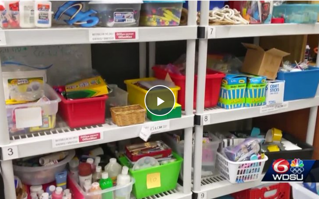 New Orleans Teacher Free-Store adjusts in pandemic to continue to provide for teachers in need